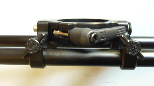 cam-jam Quattro Monitor Arm clamps
