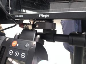 cinequick in use with our focus handgrip