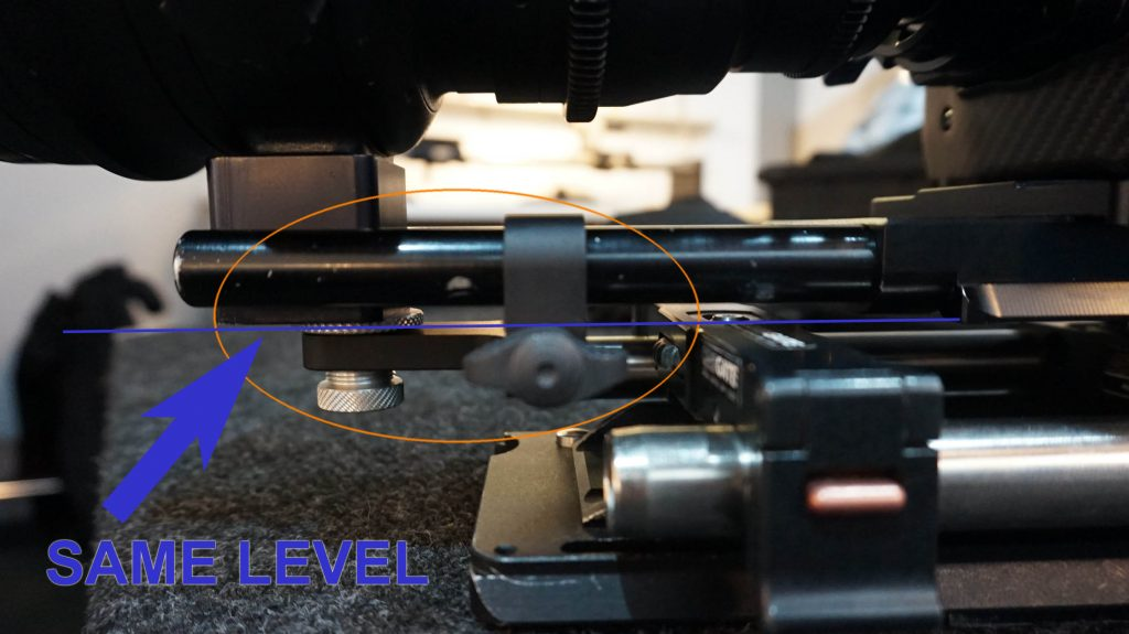 cam-jam 15mm rod lens support bridge