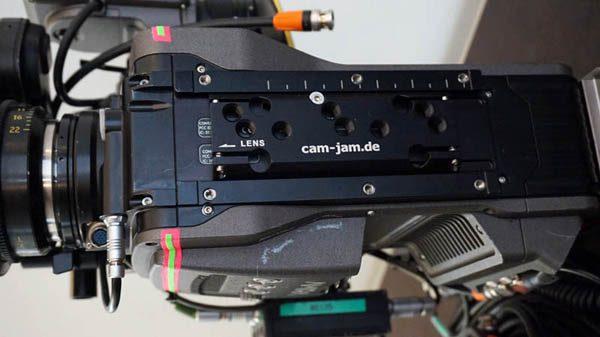 cam-jam Amira mounting bracket