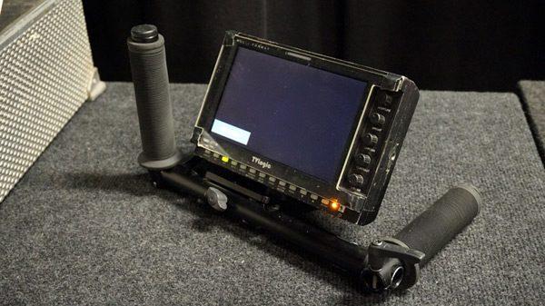 cam-jam Director's monitor handgrips