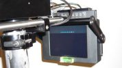cam-jam Monitor yoke for Transvideo HD6 and HD8 and Cinetronic 2